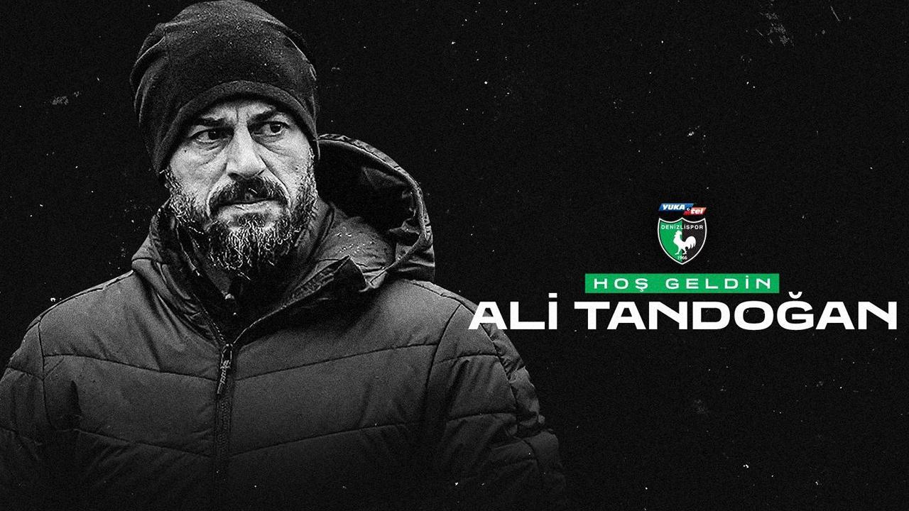 Hakan Kutlu'nun yerine gelen isim belli oldu! Denizlispor'un yeni teknik direktörü Ali Tandoğan