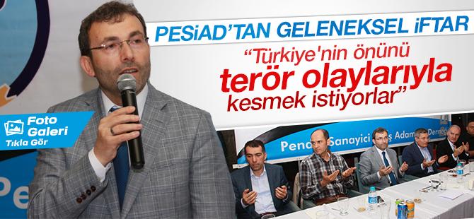 Ahmet Cin: Türkiye'nin önünü Terör Olaylarıyla Kesmek İstiyorlar
