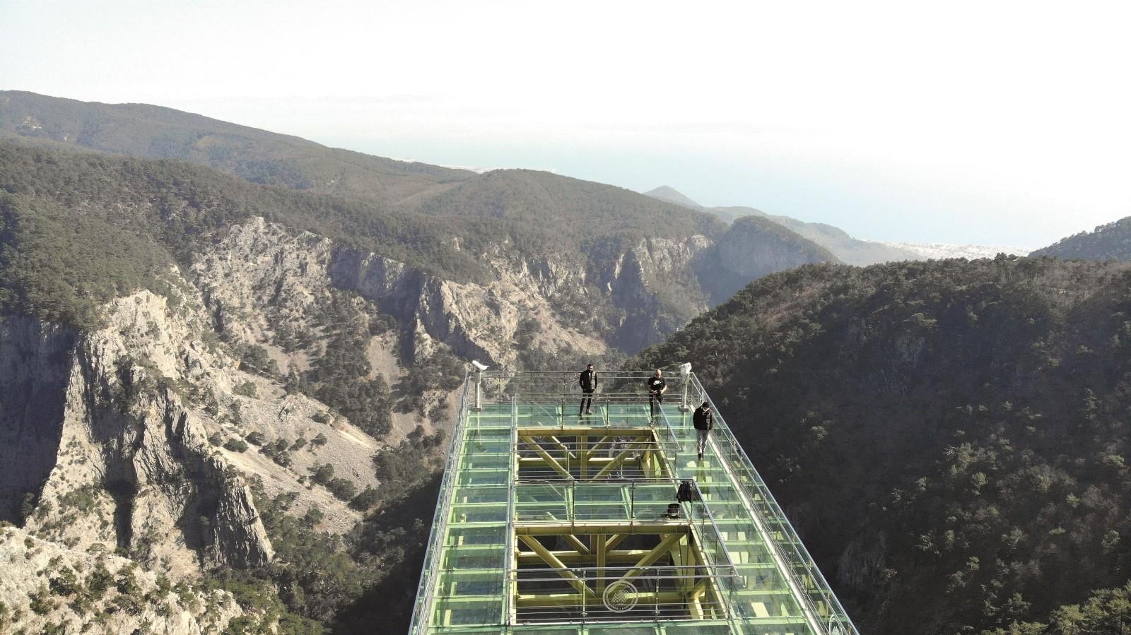 Kazdağları cam seyir terası ile turizm canlanacak