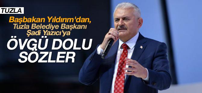 Başbakan Binali Yıldırım'dan, Şadi Yazıcı'ya Övgü Dolu sözler