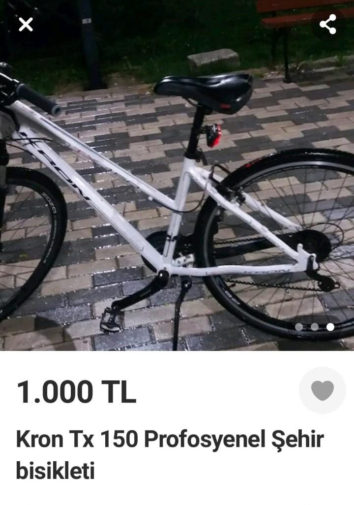 Çalıntı bisikleti internette satışa sunan şahıs, suç üstü yakalandı