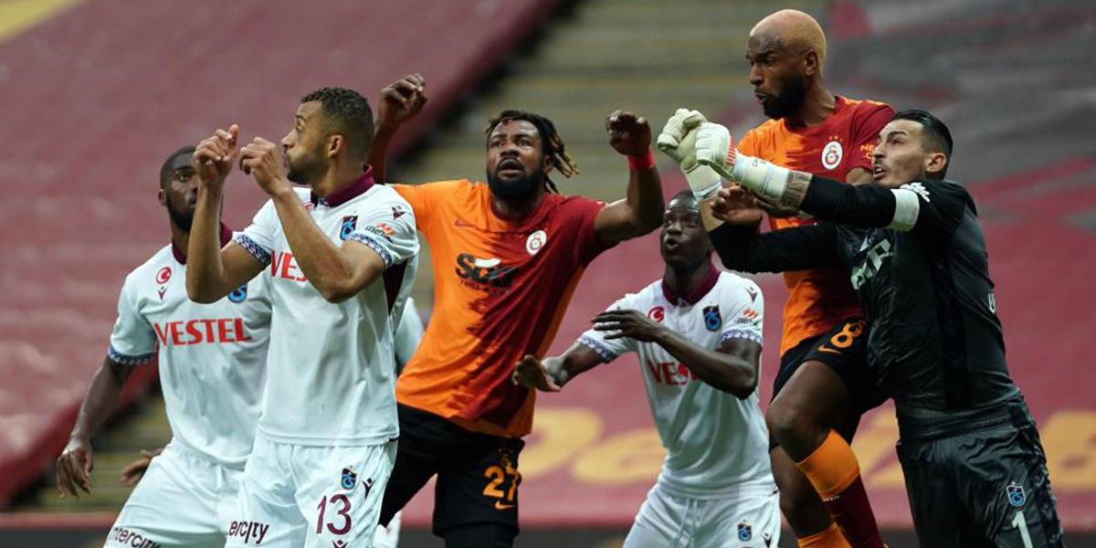 Galatasaray 1 - 1 Trabzonspor   MAÇ SONUCU