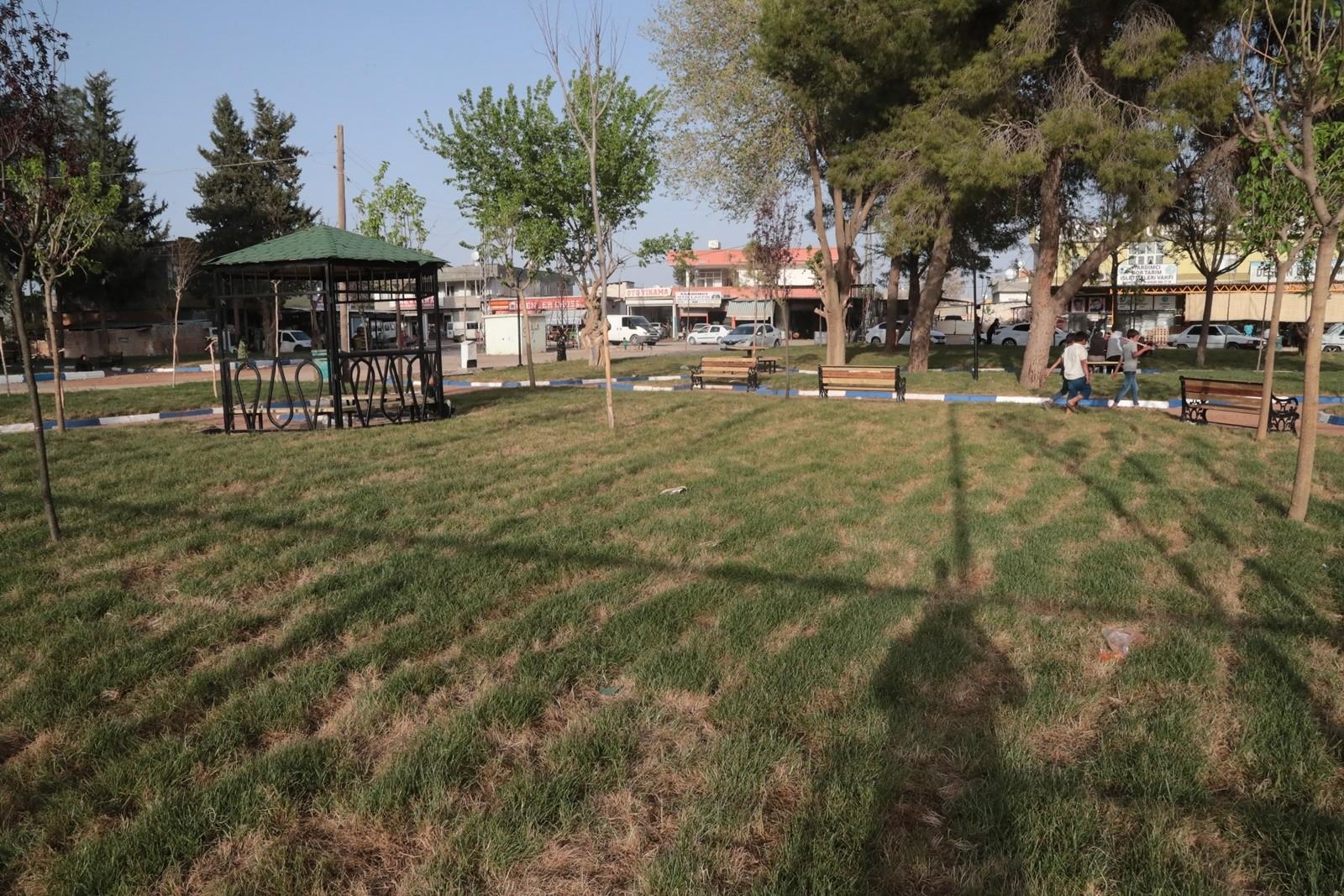 Şanlıurfa'da millet bahçesi tamamlanma aşamasında