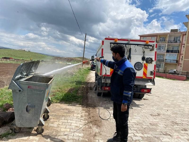 Eskişehir'de hijyen ve dezenfekte çalışmaları aralıksız sürüyor
