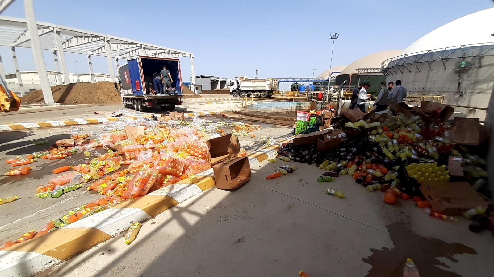 Bozuk ve tarihi geçmiş ürünlere el konuldu, Diyarbakır'da gıda denetimi 5 ton ürün imha edildi