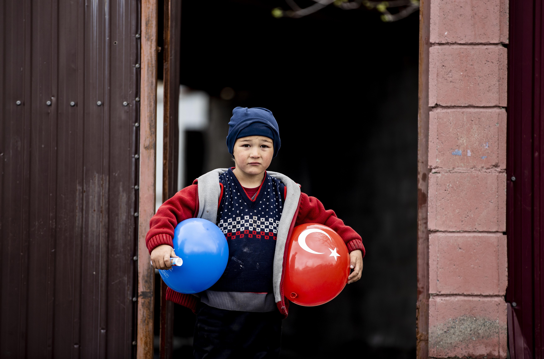 Kırgızistan'daki Ahıska Türklerine ramazan yardımı yapıldı