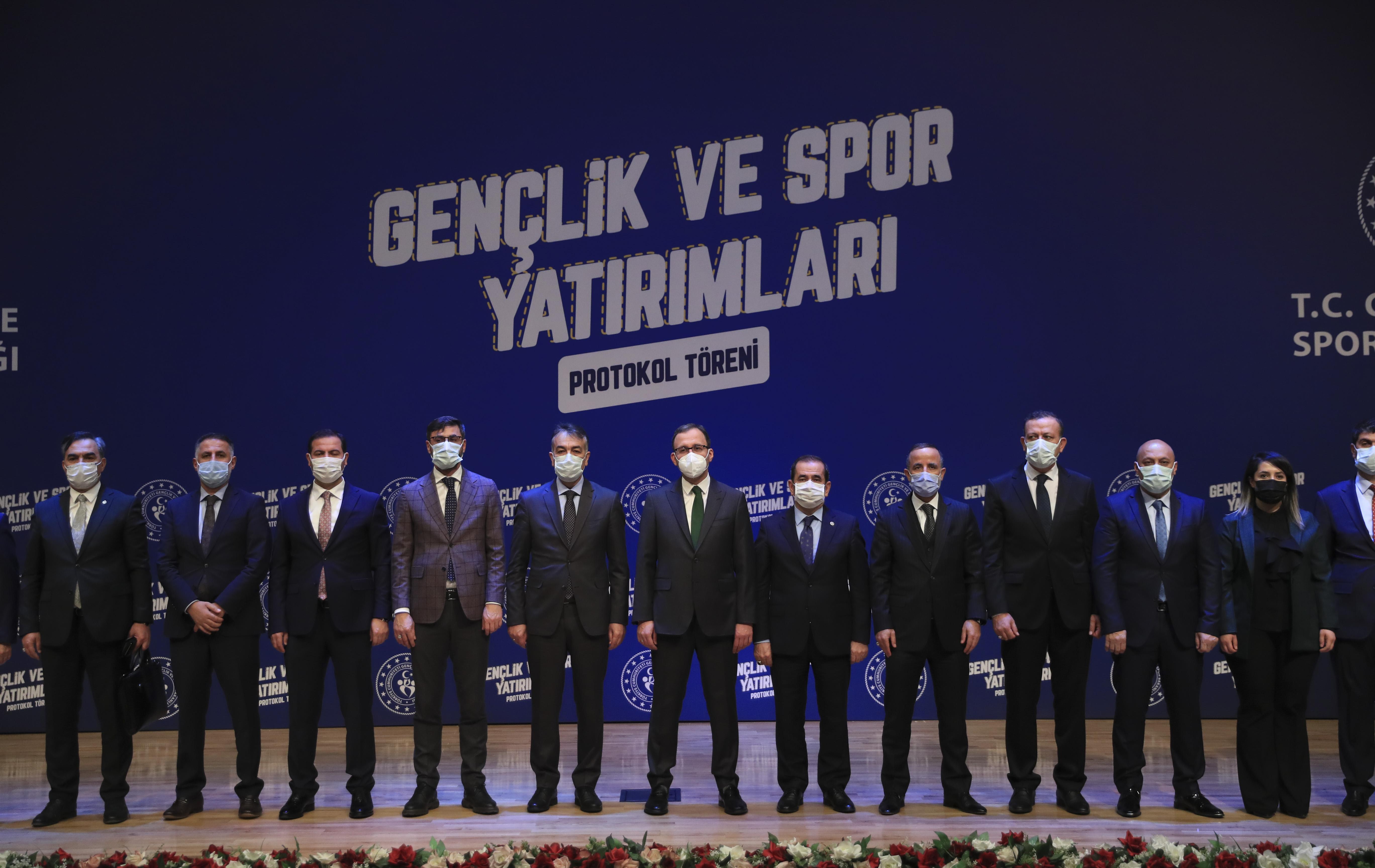 Gençlere umut olan gelişme! Gençlik ve Spor Bakanlığından Bitlis'e spor ve gençlik yatırımı