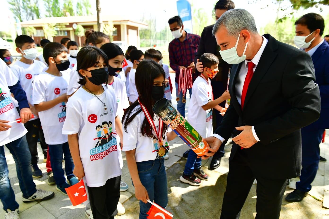 Malatya'da çocuklar için şenlik düzenlendi