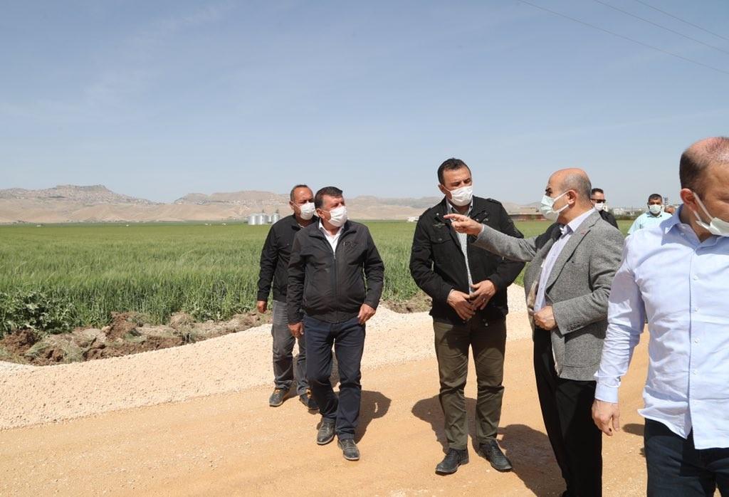 Mardin'de üstyapı çalışmalarına başlandı