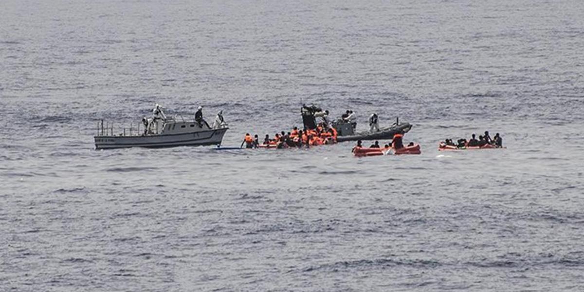 Akdeniz'de tekne kazası! 100'ün üzerinde göçmen öldü