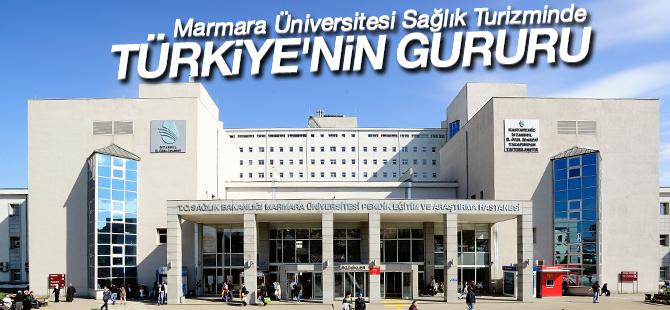 Marmara Üniversitesi Sağlık Turizminde Türkiye'nin Gururu