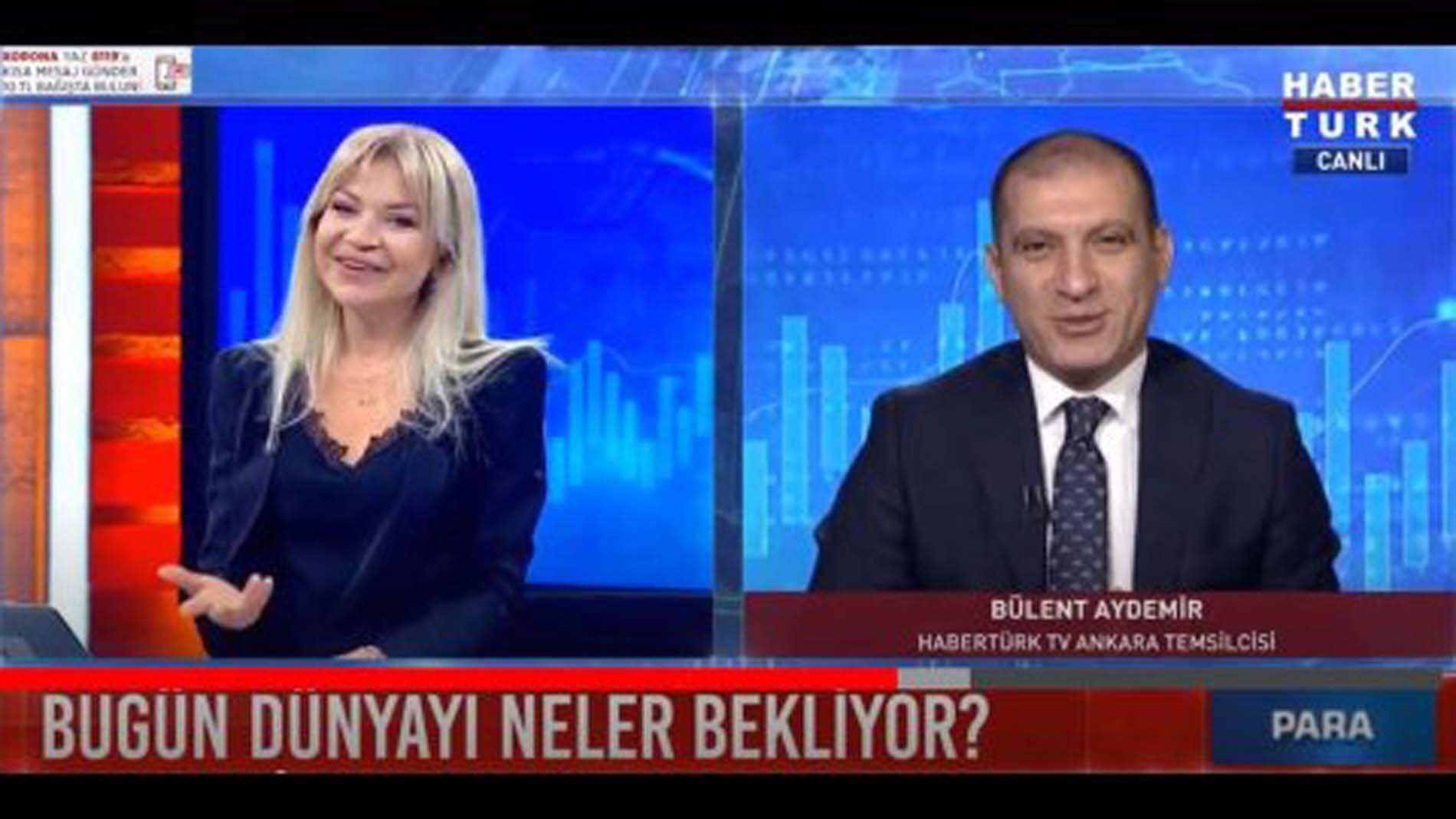 Habertürk Para Gündem Bülent Aydemir neden yok? Bülent Aydemir'e ne oldu 6 Mayıs 2021 Perşembe ?