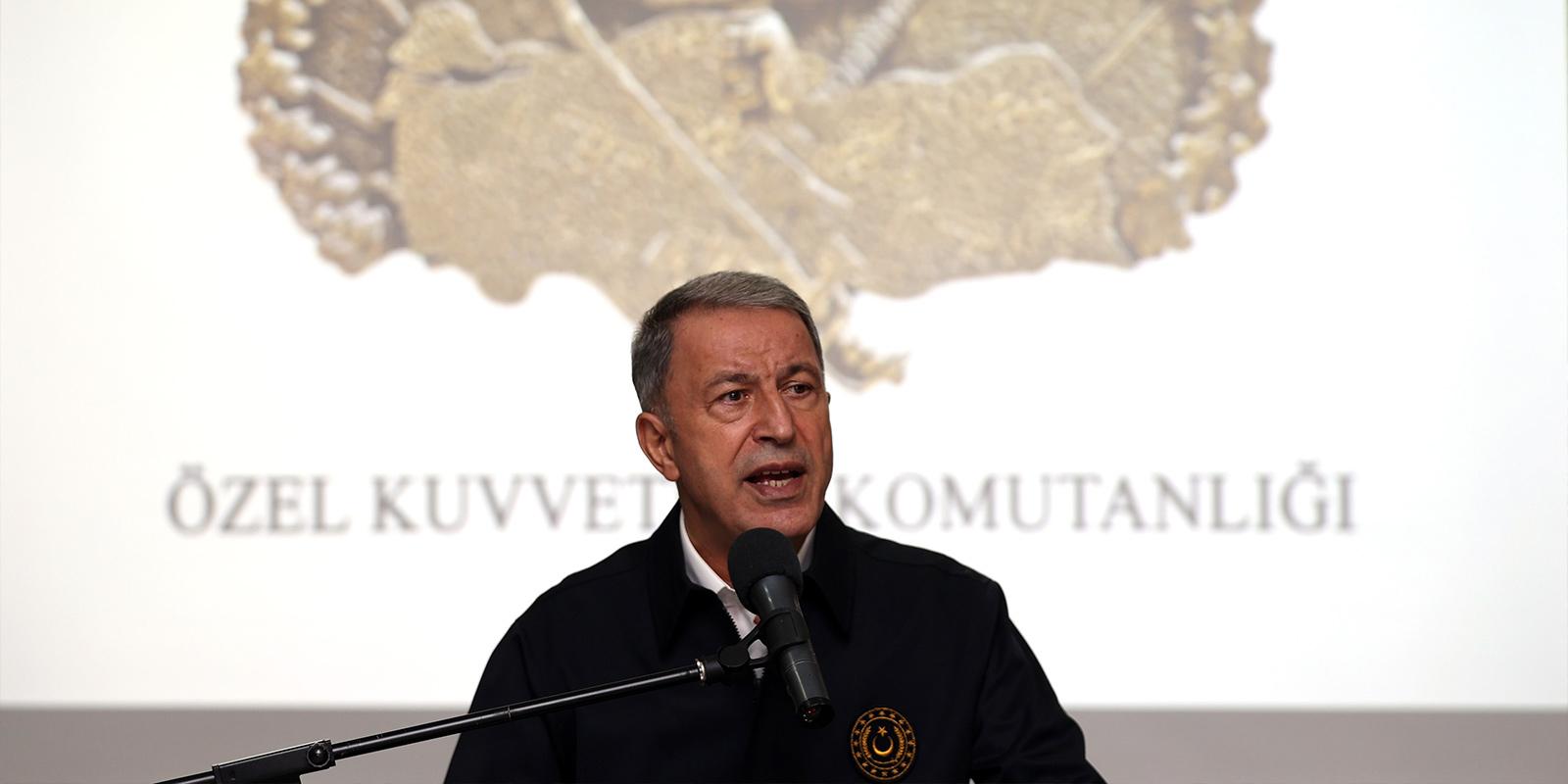 SON DAKİKA! Bakan Akar'dan Türkiye-Mısır ilişkileri açıklaması!