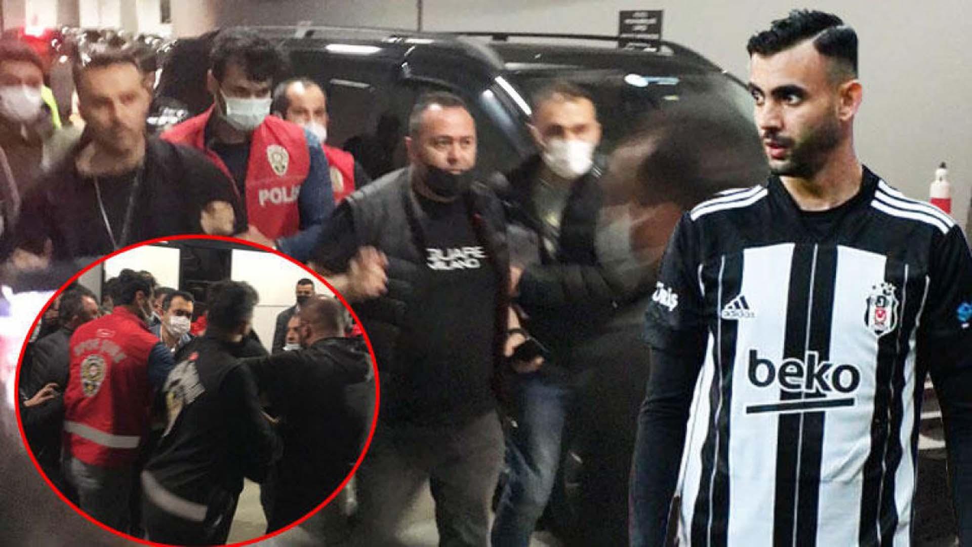 Karagümrüklü Ndao şikayetçi oldu, Ghezzal'ın menajeri Hakan Korkmaz gözaltına alındı