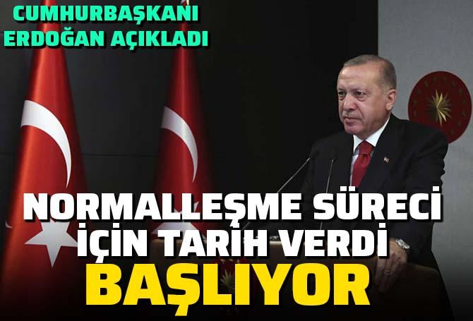 Son dakika | Cumhurbaşkanı Erdoğan'dan Ramazan Bayramı mesajı: Bayram sonrasında kontrollü normalleşme başlıyor