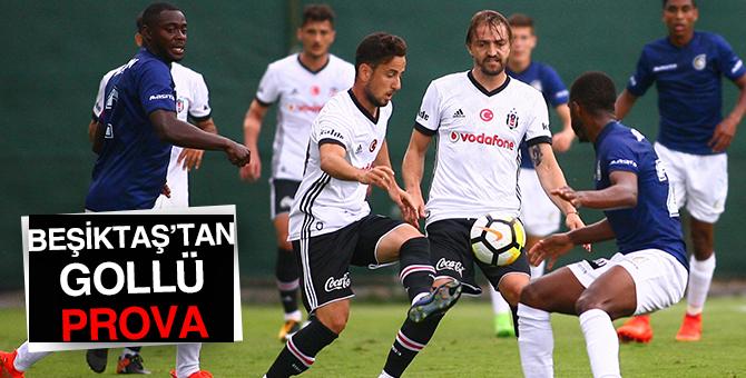 Beşiktaş maçında izleyenler gole doydu