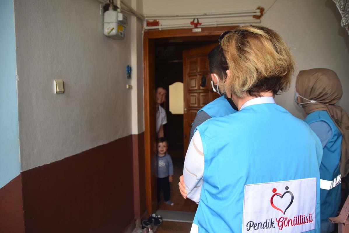 Pendik Gönüllülerinden gazi ve şehit ailelerine bayram ziyareti!