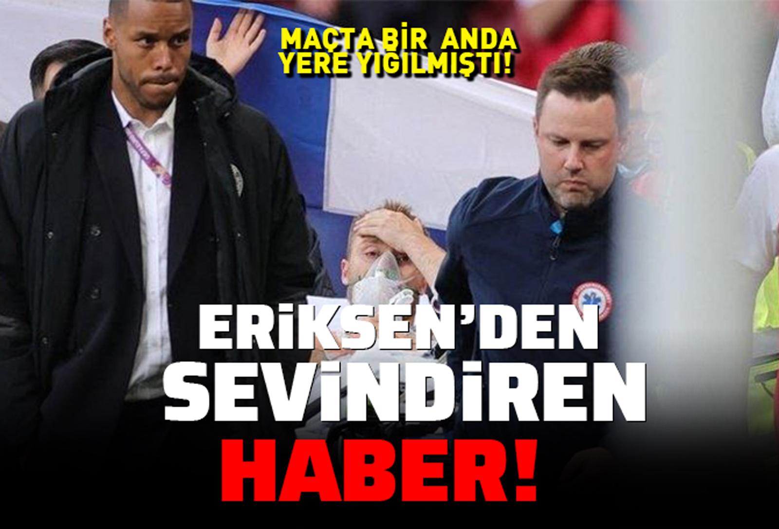 Maçta bir anda yere yığılmıştı: Christian Eriksen'in sağlık durumu belli oldu!