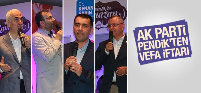 AK Parti Pendik'ten Vefa İftarı