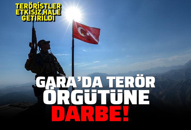 SON DAKİKA| MSB: Gara'da tespit edilen 4 PKK'lı terörist etkisiz hale getirildi