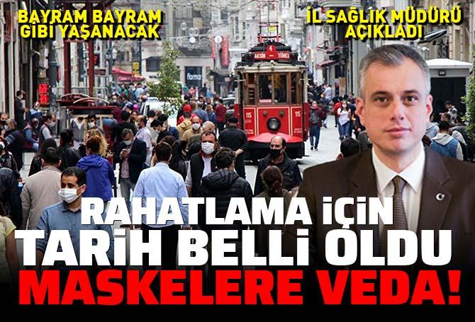 İstanbul İl Sağlık Müdürü Memişoğlu umut dağıttı, rahatlama için tarih verdi! Maskeler o tarihten sonra çıkabilir