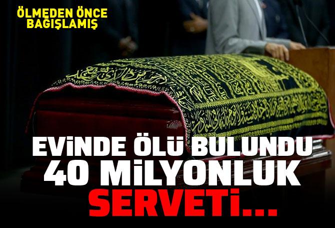 Şoke eden ölüm, şoke eden servet! Evinde ölü bulunan Ulvi Eker, Türk Eğitim Vakfı'na 40 milyon bağışlamış