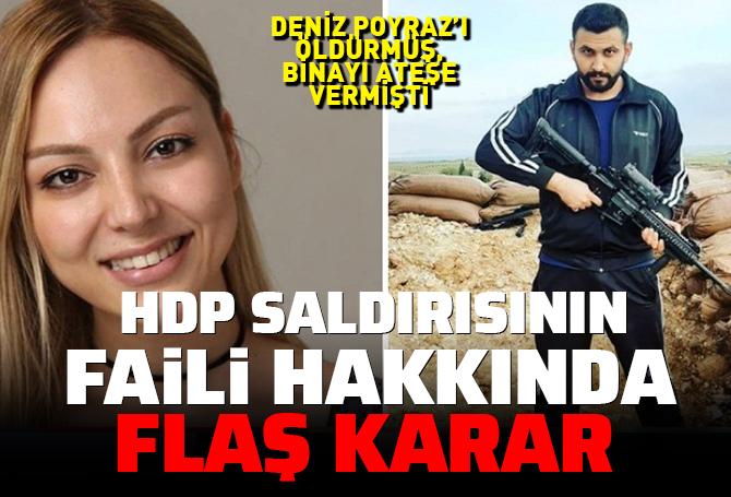 SON DAKİKA! HDP İzmir il binasına silahlı saldırı olayında sıcak gelişme: Fail Onur Gencer Tutuklandı!