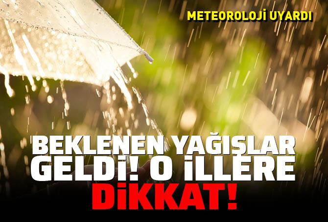 Sıcaktan bunalanlara müjde! O iller için gök gürültülü sağanak yağış uyarısı! İşte il il hava durumu