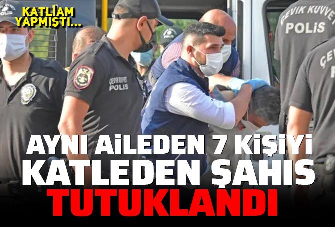 Son dakika |Konya'da 7 kişiyi öldüren Mehmet Altun tutuklandı