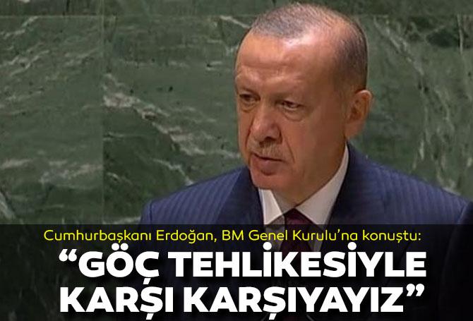Son dakika! Cumhurbaşkanı, Birleşmiş Milletler Genel Kurulu'na açıklamalarda bulundu!