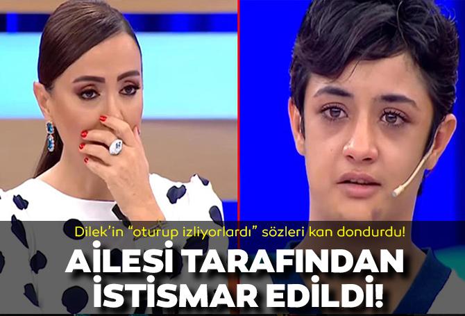 Dilek'in sözleri kan dondurdu! Didem Arslan Yılmaz'la Vazgeçme programında yaşadığı istismarı açıkladı!