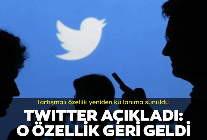 Twitter'dan flaş açıklama: Twitter Reactions özelliği geri geldi