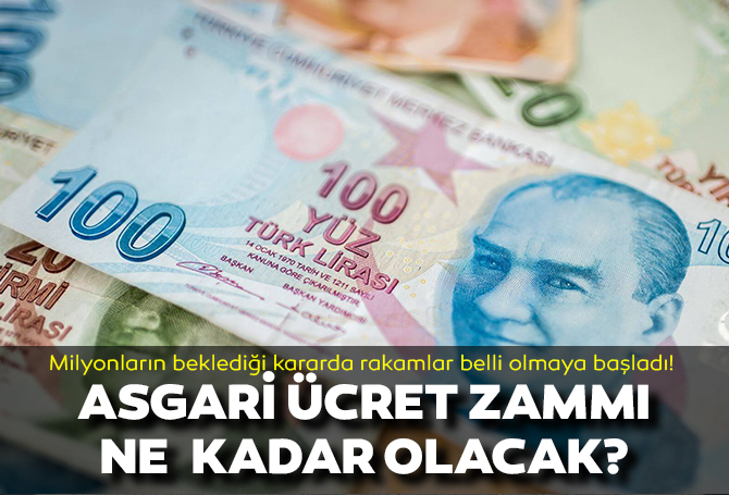 Asgari ücrette yüzde 25'lik zam bekleniyor! Beklenti 3 bin 400 lira üzeri