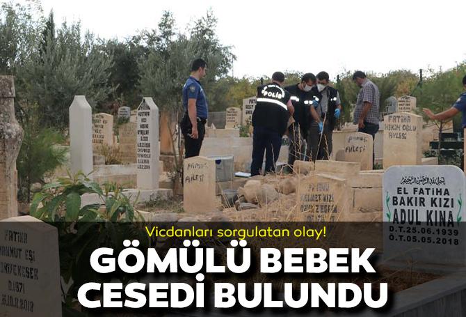 Şanlıurfa'da acı olay! Mezarlıkta çantayla gömülü bebek cesedi bulundu