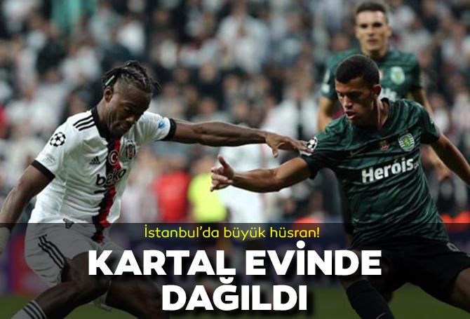 Beşiktaş 1 - 4 Sporting Lizbon Şampiyonlar Ligi maç sonucu