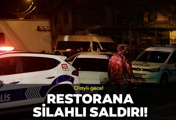Beyoğlu'nda olaylı gece! Bir restorana silahlı saldırı düzenlendi!