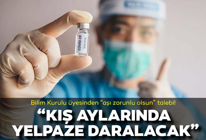 """Bilim Kurulu Üyesi Prof. Dr. Alper Şener: """"Koronaviüs aşısı zorunlu olsun"""""""