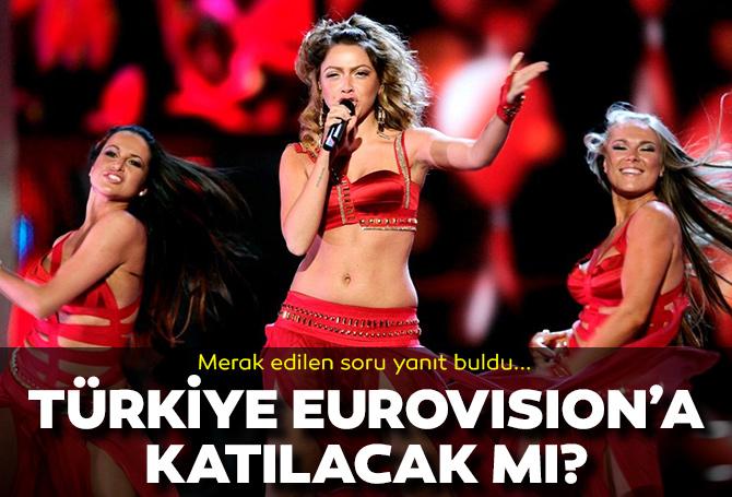 Türkiye Eurovison'a katılacak mı? 2022 Eurovision şarkı yarışması için merak edilen soru yanıt buldu