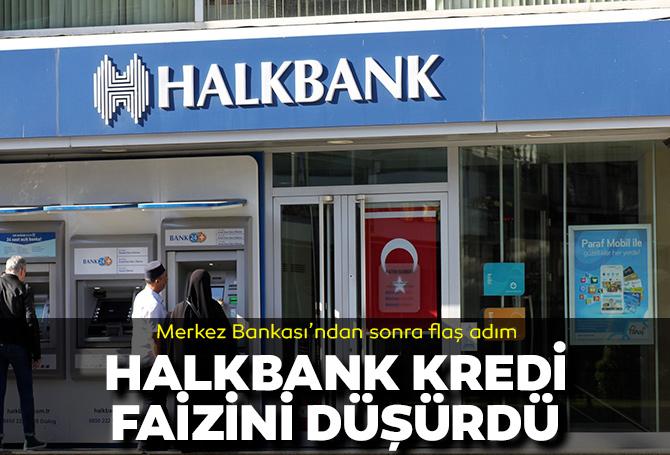 Son dakika | Halkbank, kurumsal kredi faizlerini 2 puan düşürdü