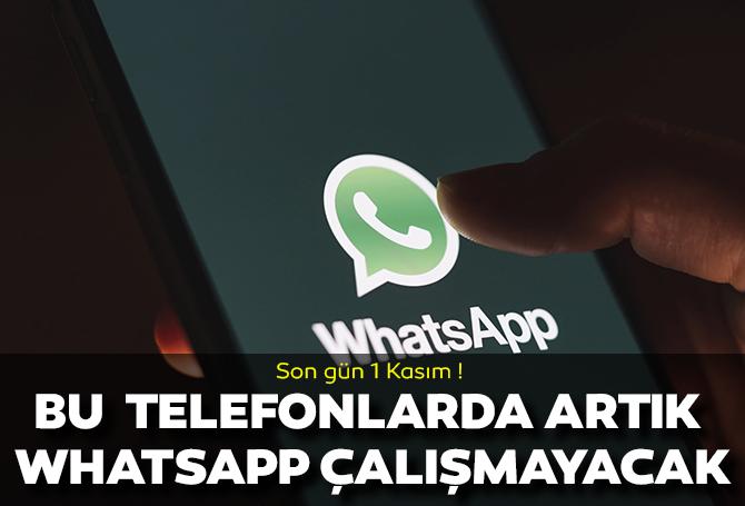 Milyonları üzen haber! WhatsApp 1 Kasım tarihinden itibaren bu telefonlarda kullanılamayacak!