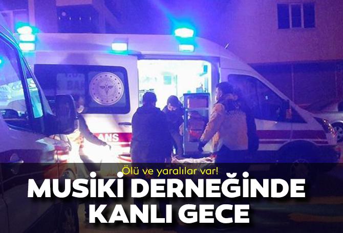 Çorum'da Türk Sanat Musikisi Sevenler Derneği'nde çıkan tartışma silahlı kavgayla bitti! Ölü ve yaralılar var