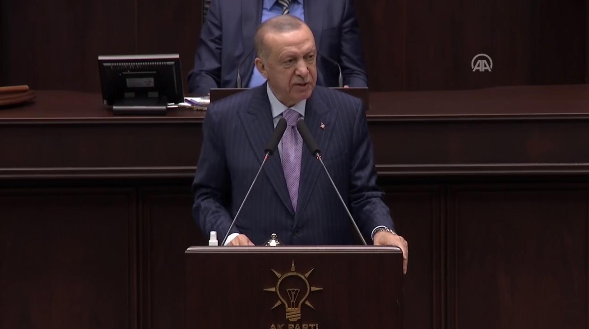 Cumhurbaşkanı Erdoğan'dan AK Parti Grup Toplantısında önemli açıklamalar! CHP'nin HDP'ye boğun eğmesi ne kadar hazin bir tablo