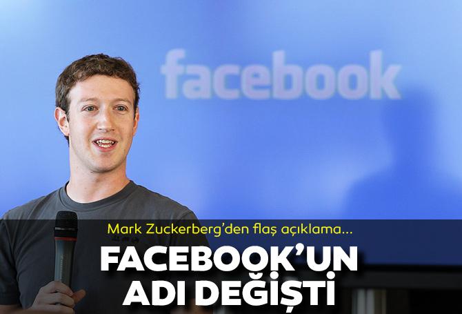 Facebook'un adı değişti! Mark Zuckerberg açıkladı: İşte Facebook'un yeni adı ve logosu...