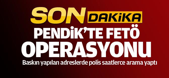 İstanbul'da 100 Adrese Eş Zamanlı FETÖ Operasyonu!