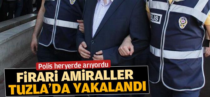 Firari Amiraller Tuzla'da Yakalandı
