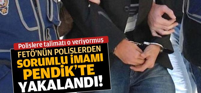 FETÖ'nün Polislerden Sorumlu İmamı Pendik'te Yakalandı