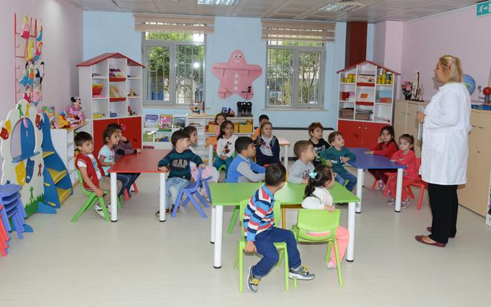 Anne Çocuk Eğitim Merkezi'nde Yeni Dönem Başladı