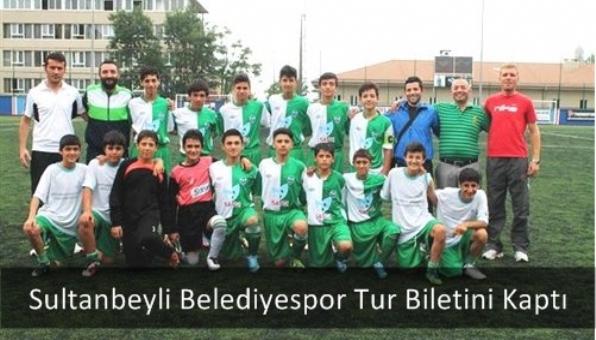 Sultanbeyli Belediyespor Tur Biletini Kaptı