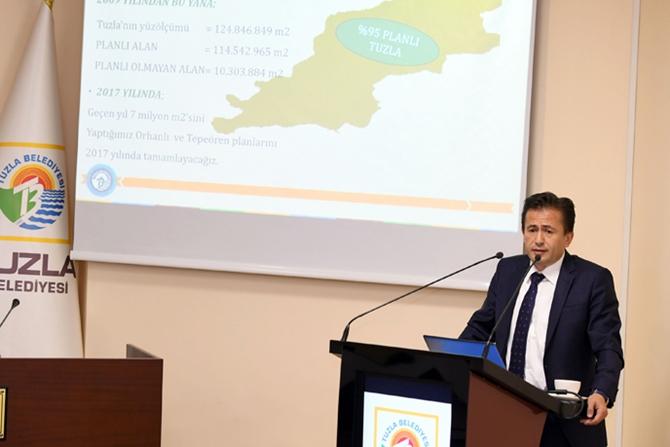 Tuzla Belediyesi'nin Bütçesi 7 Yılda 5 Kattan Fazla Arttı