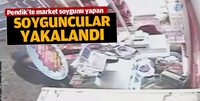 Pendik ve Beyoğlu'nda marketlere giren soyguncular yakalandı!